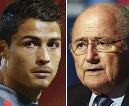 Milhares de fãs pedem demissão de Presidente da FIFA após piada contra Ronaldo