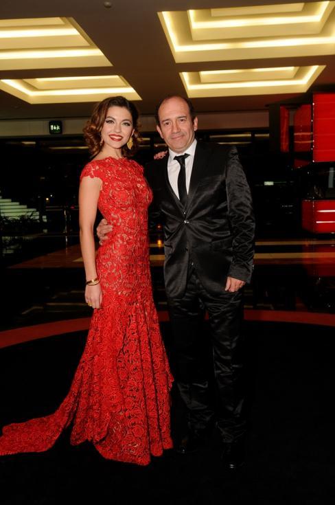Sara Barradas e José Raposo - Gala das Estrelas - TVI (Foto: Tiago Frazão/Lux)